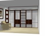Wnętrze szafy szerokość 350 - 400 cm  3540w12x5