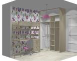 Wnętrze szafy szerokość 140 - 160 cm 1416w20x2