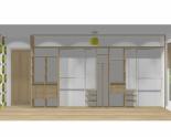 Wnętrze szafy szerokość 450 - 500 cm  4550w5x5