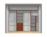Wnętrze szafy szerokość 271 - 310 cm  2731w49x4