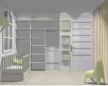 Wnętrze szafy szerokość 181 - 210 cm 1821w35x3