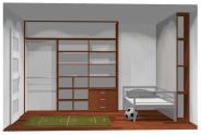 Wnętrze szafy szerokość 241 - 270 cm 2427w21x3