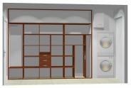 Wnętrze szafy szerokość 271 - 310 cm  2731w16x3