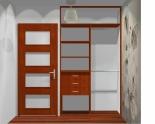 Wnętrze szafy szerokość 140 - 160 cm 1416w5x2