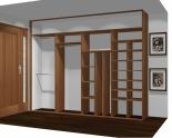 Wnętrze szafy szerokość 310 - 350 cm  3135w41x4