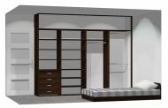 Wnętrze szafy szerokość 271 - 310 cm  2731w31x4