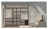 Wnętrze szafy szerokość 271 - 310 cm  2731w17x3