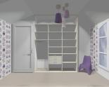 Wnętrze szafy szerokość 181 - 210 cm 1821w49x3