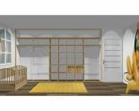 Wnętrze szafy szerokość 400 - 450 cm  4045w10x5
