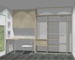 Wnętrze szafy szerokość 181 - 210 cm 1821w42x3