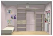 Wnętrze szafy szerokość 241 - 270 cm 2427w17x3