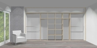 Wnętrze szafy szerokość 400 - 450 cm  4045w2x4