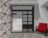 Wnętrze szafy szerokość 181 - 210 cm 1821w17x2
