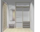 Wnętrze szafy szerokość 140 - 160 cm 1416w3x2