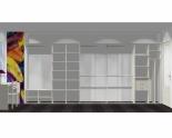 Wnętrze szafy szerokość 450 - 500 cm  4550w16x5