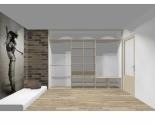 Wnętrze szafy szerokość 310 - 350 cm  3135w14x3