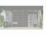 Wnętrze szafy szerokość 350 - 400 cm  3540w10x5
