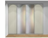 Drzwi przesuwne szerokość 271 - 310 cm 2731d4x4