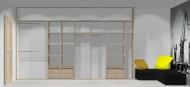 Wnętrze szafy szerokość 400 - 450 cm  4045w24x4