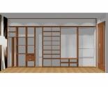Wnętrze szafy szerokość 450 - 500 cm  4550w14x5