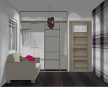 Wnętrze szafy szerokość 181 - 210 cm 1821w19x2