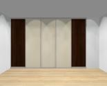 Drzwi przesuwne szerokość 351 - 400 cm 3540d10x5