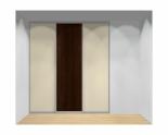 Drzwi przesuwne szerokość 211 - 240 cm 2124d7x3