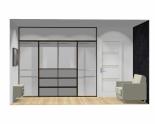 Wnętrze szafy szerokość 271 - 310 cm  2731w45x4