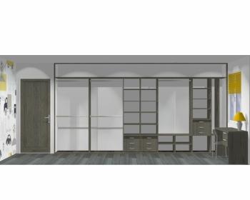 Wnętrze szafy szerokość 450 - 500 cm  4550w18x5