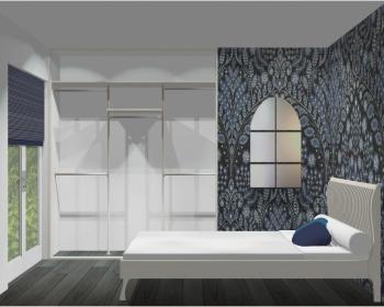 Wnętrze szafy szerokość 181 - 210 cm 1821w34x3