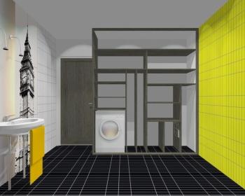 Wnętrze szafy szerokość 181 - 210 cm 1821w16x2