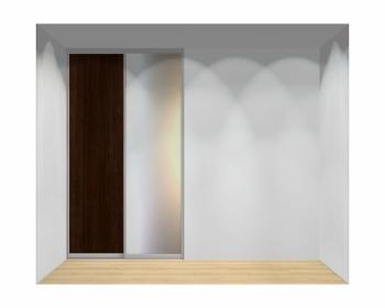 Drzwi przesuwne szerokość 140 - 160 cm 1416d2x2