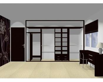 Wnętrze szafy szerokość 350 - 400 cm  3540w14x4