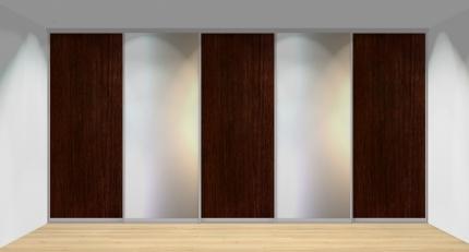 Drzwi przesuwne szerokość 451 - 500 cm 4550d6x5