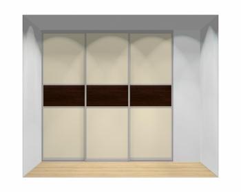 Drzwi przesuwne szerokość 241 - 270 cm 2427d13x3