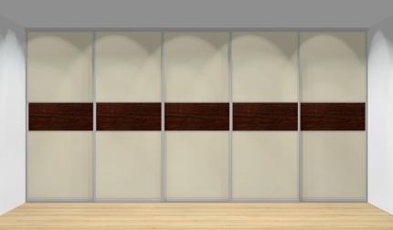 Drzwi przesuwne szerokość 451 - 500 cm 4550d16x5