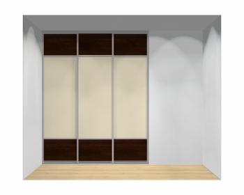 Drzwi przesuwne szerokość 181 - 210 cm 1821d12x3