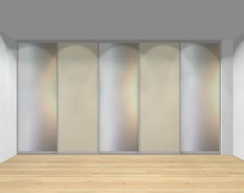 Drzwi przesuwne szerokość 401 - 450 cm 4045d5x5
