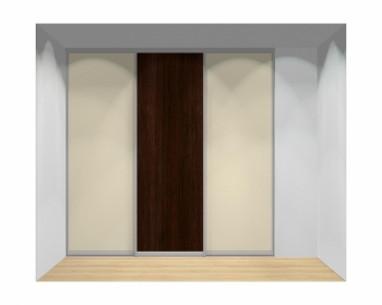 Drzwi przesuwne szerokość 241 - 270 cm 2427d7x3
