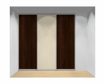 Drzwi przesuwne szerokość 241 - 270 cm 2427d6x3