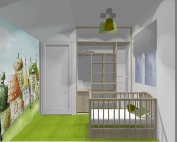 Wnętrze szafy szerokość 140 - 160 cm 1416w24x2