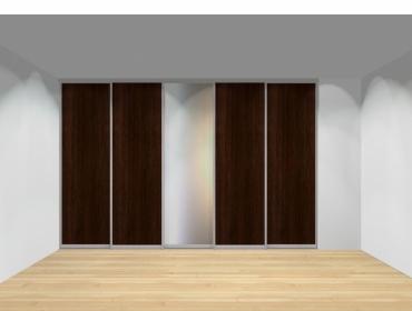 Drzwi przesuwne szerokość 351 - 400 cm 3540d9x5