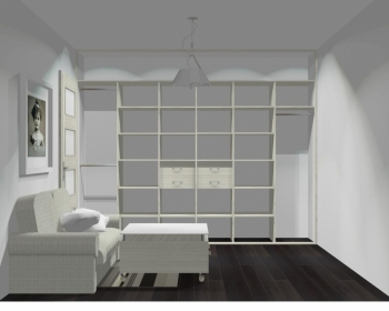 Wnętrze szafy szerokość 310 - 350 cm  3135w22x3