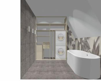 Wnętrze szafy szerokość 161 - 180 cm 1618w8x2