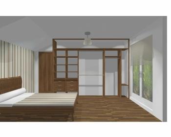 Wnętrze szafy szerokość 310 - 350 cm  3135w10x3