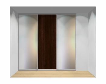 Drzwi przesuwne szerokość 241 - 270 cm 2427d3x3