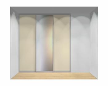 Drzwi przesuwne szerokość 211 - 240 cm 2124d8x3