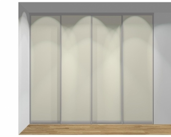 Drzwi przesuwne szerokość 271 - 310 cm 2731d5x4