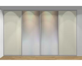 Drzwi przesuwne szerokość 351 - 400 cm 3540d2x4