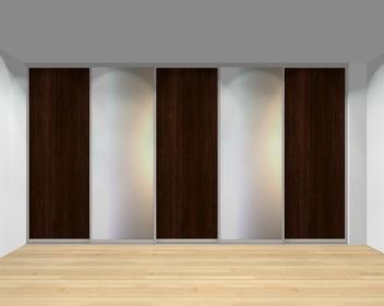 Drzwi przesuwne szerokość 401 - 450 cm 4045d6x5